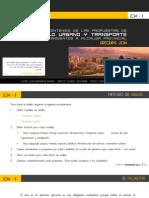 Analisis de Propuestas de Desarrollo Urbano y Transporte.