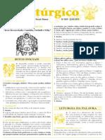 ABC Litúrgico 220511 - Inscrições Abertas