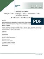 Workshop USP - Validação Verificação e Transferência de Métodos Analíticos - 30 de Set e 01 de Out de 2013.pdf