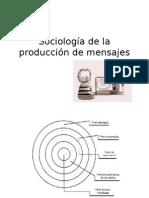 Sociología de La Producción de Mensajes