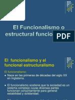 El Funcionalismo y El Funcional Estructuralismo Trabajo(2)