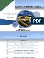 ADBTF14_URS Korea's 95% Reduction of Child Traffic Fatalities