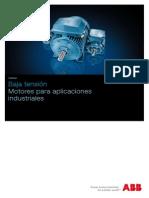 Abb Motores Para Aplicaciones Industriales (Baja Tension)
