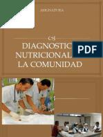 Diagnostico Nut. en Comunidad
