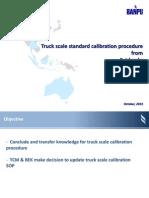 Presentation Calibration Procedure From Fairbanks