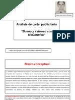 Análisis de Cartel Publicitario