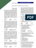 SESIÓN Nº 03 Orden de Información; Suficiencia de Datos; Inferencias Lógicas