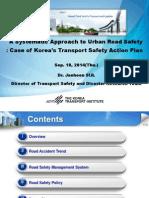 ADBTF14_URS Korea's Transport Safety Action Plan