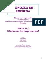 Modulo 3 - Como Son Los Empresarios