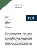 Alain de Botton - El Arte de Viajar