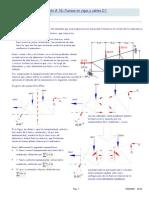 Estatica Estructural (S-17) - Fuerzas en Vigas