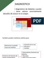 Diagnostico y Tratamiendo Diabetes