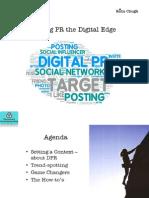 Giving PR the Digital Edge