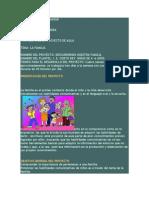 Proyecto 1 Familia y Valores