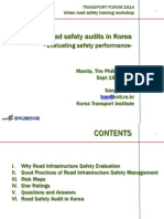 ADBTF14_URS Urban Road Safety Audits in Korea