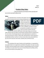 predator blog