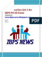 IBPS PO Sample 1- Www.ibps-NEWS.blogspot.com