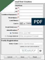 Account Creation, Update, Password Change, Login (10-Jun-14)