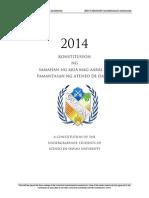 2014 SAMAHAN Constitution Draft