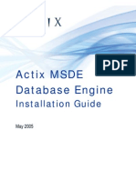 MSDE Installation Guide