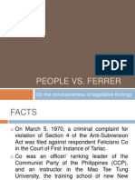 People vs Ferrer