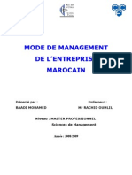 Mode de Management