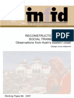 Working Paper 4 - Reconstruction Without Social Transformation