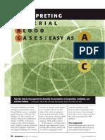 arterial blood gases journal