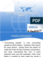International Marketing - Nokia
