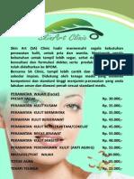 Brosur Skin Care PRINT