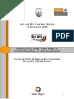 Diagnostico Territorial Para La Estrategia Rural 2010 Sagarpa