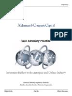 Alderman Sale Advisory Practice