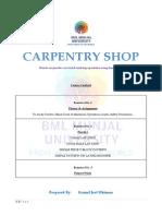 Carpentry Workshop Manual