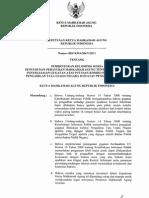 Surat Keputusan Ketua MA RI