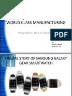 WCM Galaxy Gear