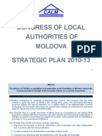 CALM Strategic Plan 2010-2013