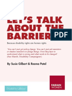 Let's Talk About The Barriers
