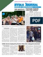 The Suffolk Journal 10/1/14