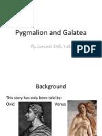Della Valle, Pygmalion and Galatea