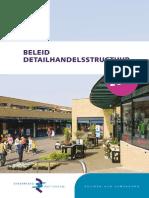 Stadsregio Rotterdam Beleid Detailhandelsstructuur 2012