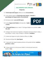"""Vencedores """"Saber + Dia Europeu Das Línguas"""""""