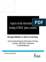 Aspects on Electrochemical Healing