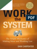 Sam Carpenter Work the System