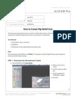 How to Create Flip Cuts in ArtCAM