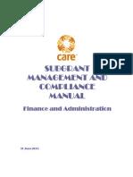 Subgrant Manual