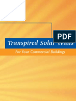 U.S. Department of Energy - DOE - Transpired SolarWalls (solar collectors, solar air heating)