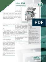 Forming Machine Fm 250