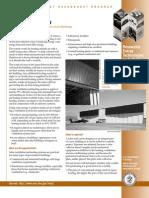 U.S. Department of Energy - DOE- Solar Ventilation Preheating (solar air heating with solar thermal SolarWall system)
