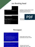 Installasi SISTEM OPERASI Windows 98