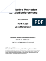 Ayas_Bergmann_Qualitative Methoden Der Medienforschung